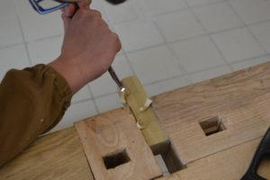 Operatore del legno